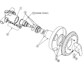 131119 further Symmons Shower Valve Parts Diagram also Old Moen Shower Knob Removal 527753 additionally Surgeon Scrub Sinks likewise 2. on shower mixing valve