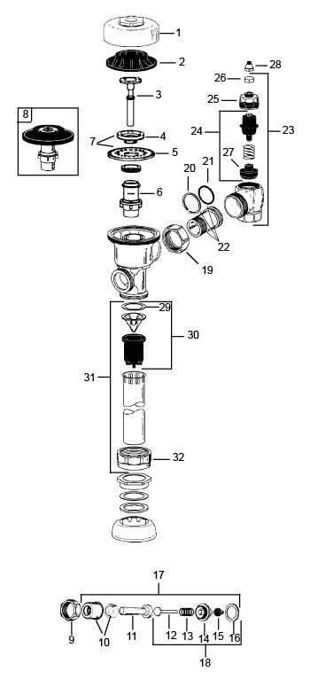 flushometers  sloan