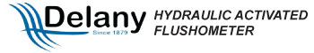 delany hydraulic activated flush valve